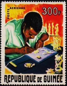 Guinea. 1965 300f. S.G.494 Fine Used