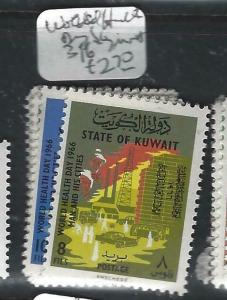 KUWAIT  (PP1505B)  WORLD HEALTH DAY  SG 316-7  MNH