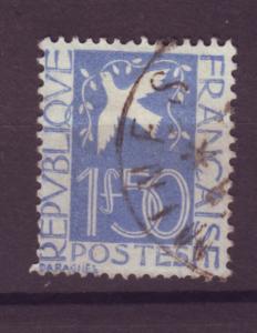 J15216 JLstamps 1934 france set of 1  used #294 dove