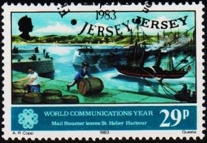 Jersey. 1983 29p S.G.318 Fine Used