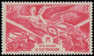 1946 French Equatorial Africa #C24, Complete Set, Hinged