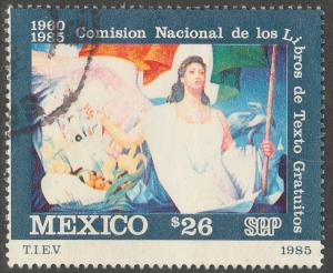 MEXICO 1426 25th Anniv of Free Textbook Program Used (1225)