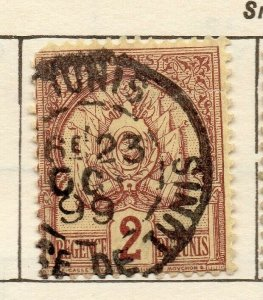 Tunis 1888 Early Issue Fine Used 2c. NW-114577