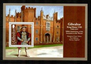 Gibraltar #1181  MNH  Scott $10.50   Souvenir Sheet