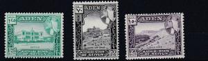 ADEN  KATHIRI  1964   S G  39 - 41      SET OF 3       MNH