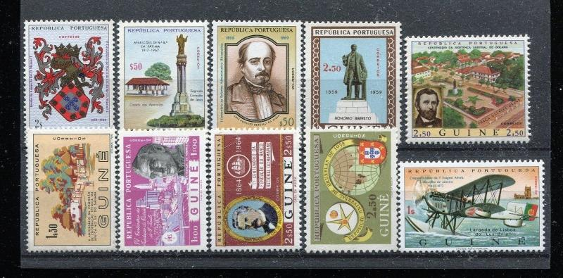 Small accumulation of MNH Guinea stamps. x29158