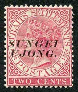Negri Sembilan SG44 2c pale rose Opt type 29 M/Mint