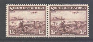 SWA Scott 110 - SG96, 1937 Mail Train 1.1/2d MH*