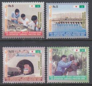 Pakistan 1046-1049 MNH VF