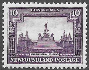 Newfoundland Scott Number 179 VF H