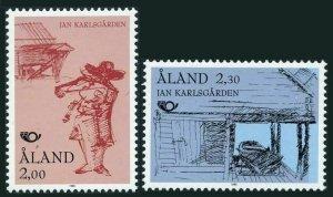 Finland-Aland 73-74,MNH. Jan Karlsgargen Museum 1993.