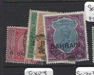 BAHRAIN (PP1704BB)  ON  INDIA   KGV  8A-5R  SG 10-4   VFU