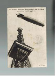 1933 Germany Graf Zeppelin LZ 127 RPPC Postcard Cover to Stutz Car Company