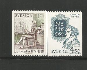 SWEDEN, 1293-1294, MNH, 1979 ISSUE