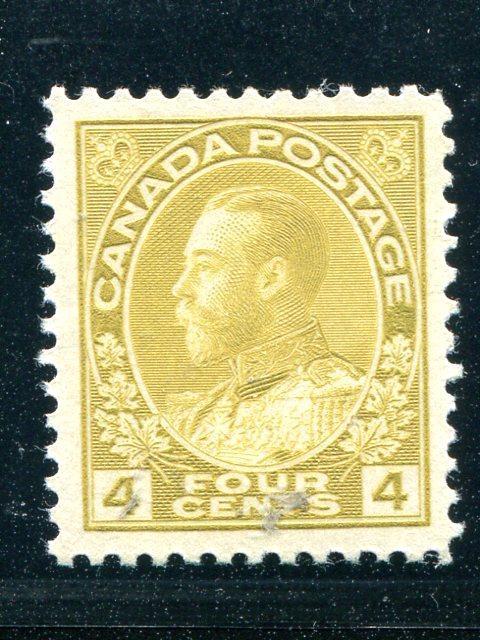 Canada #110 Mint XF NH