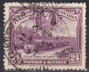 British Guiana #216 F-VF Used  CV $15.00  (Z1591)