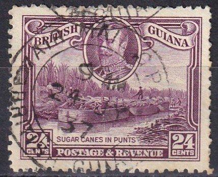 British Guiana #216 F-VF Used  CV $15.00  (Z1591)