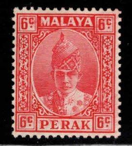 MALAYA Perak Scott 88 MH* rose red stamp