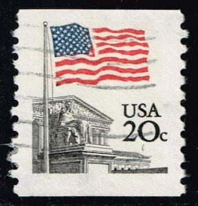 US #1895a Flag over Supreme Court; Used (0.25)