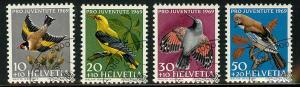 Switzerland B386-B389 Used VF LH