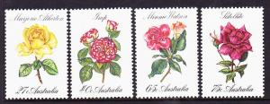 826-29 1982 Roses MNH