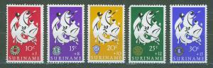 SURINAM/SURINAME 1966 MNH SC.B122/26 Easter Charities