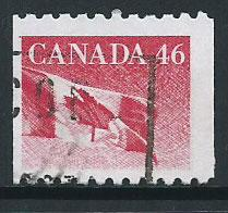 Canada SG 1365 FU  right margin imperf