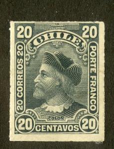 CHILE 43 MH SCV $6.50 BIN $2.75 PERSON