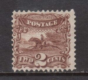 USA #113 Mint **With Certificate**