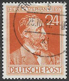 Germany 578 Used - Heinrich von Stephan