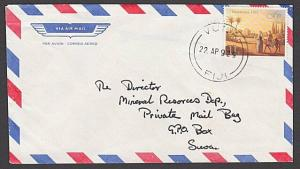 FIJI 1992 cover to Suva - VUNA cds.........................................54509