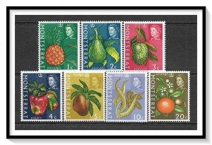 Montserrat #159a-168a Fruits & Vegetables Set MNH