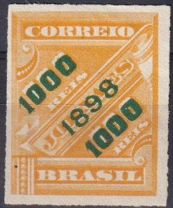 Brazil #126  F-VF Unused  CV $42.50 (Z2620)