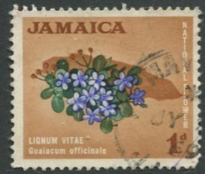 Jamaica -Scott 217 - Definitive Issue -1964 - Used - Single 1p Stamp