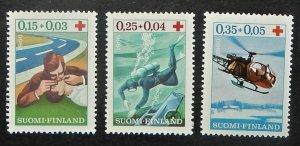 Finland B176-78. 1966 First Aid, NH