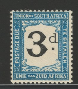 South Africa 1926 Postage Due 3p Scott # J15 MH