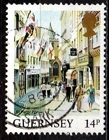 Guernsey 1984 SG. 308 used (10804)