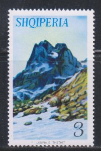 Albania,  3 l Glacier and Peak (SC# 803) MNH