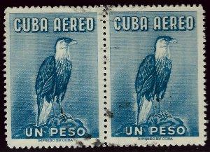 Cuba  SC C235 pair Used F-VF....Worth a close look!!