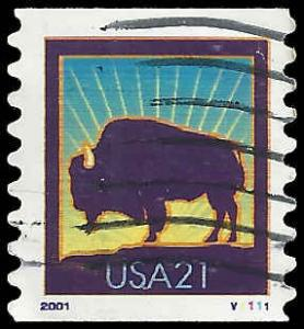 P.N.C. V1111 # 3475 USED AMERICAN BUFFALO