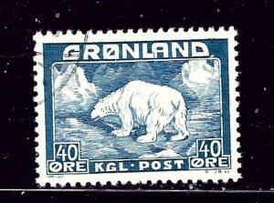 Greenland 8 Used 1946 issue