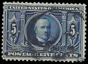 # 326 Used Dark Blue William Mckinley