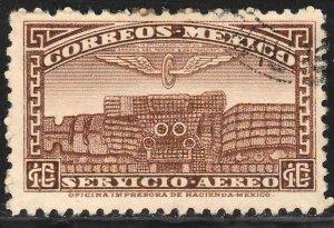 MEXICO C171, 10c 1934 Definitive Wmk Gobierno... 279 USED. F-VF. (113)