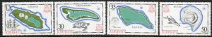 Kiribati  Scott  436-439  MNH  Complete