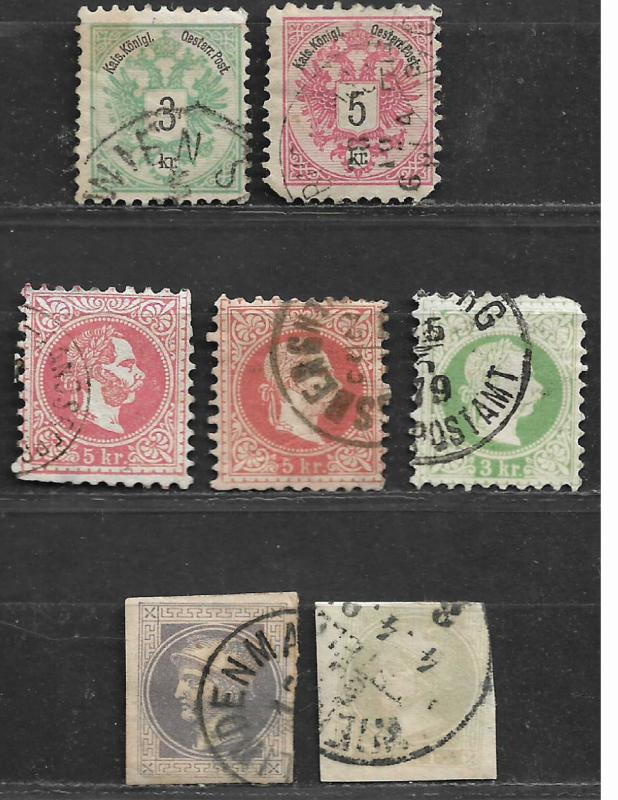 COLLECTION LOT OF 81 AUSTRIA CLEARANCE 5 SCAN