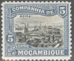 Mozambique  Company Scott 120 MH* stamp from 1918-31 set