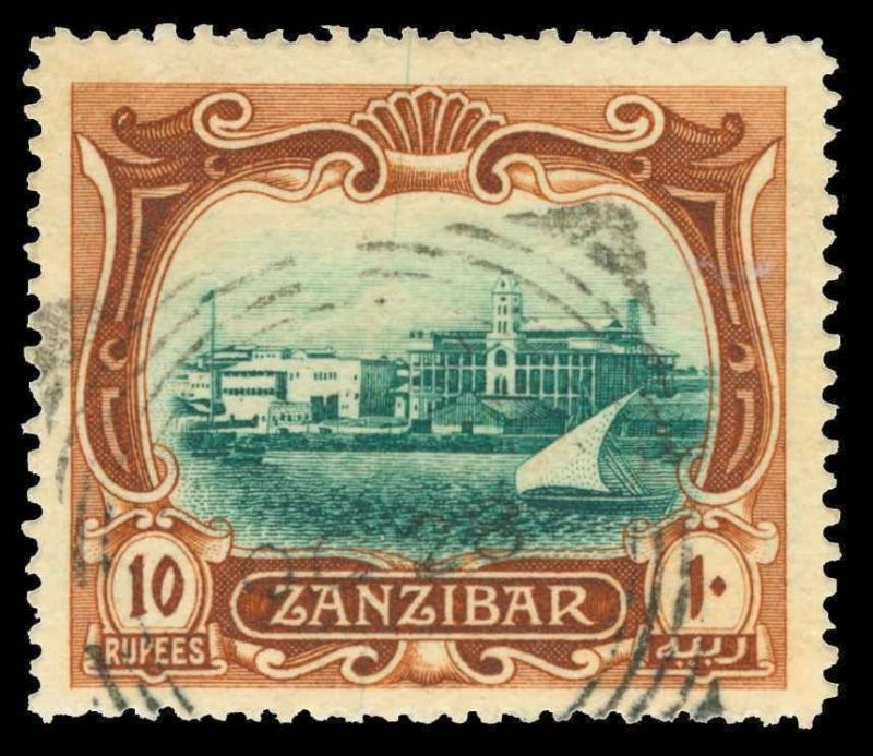 Zanzibar Scott 113 Gibbons 239 Used Stamp