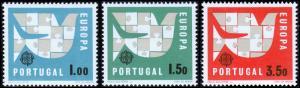 Portugal Scott 916-918 (1963) Mint LH VF Complete Set B