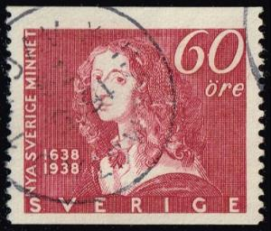 Sweden #272 Queen Christina; Used (0.35)