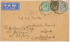 Kenya Uganda & Tanganyika Kenya and Uganda 5c 10c,and 50c KGV 1933 Kitale, Ke...
